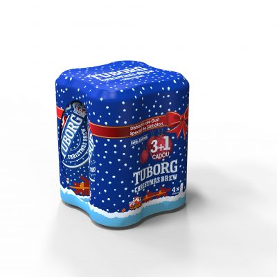 4 Pack Tuborg Christmas Brew