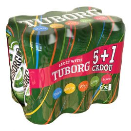 Six pack Tuborg NCP 3D Project